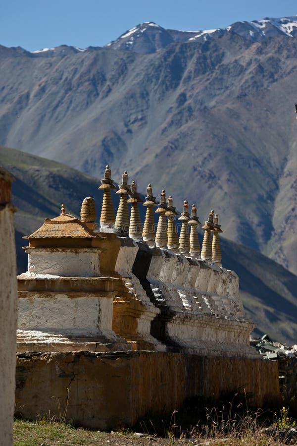 budhist stupas 图库摄影