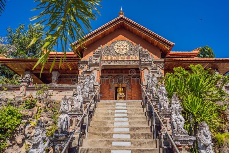 Budhist temple Brahma Vihara Arama Bali stock image