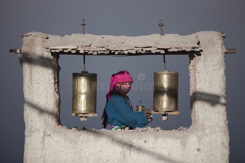 Budismo tibetano imagens de stock royalty free