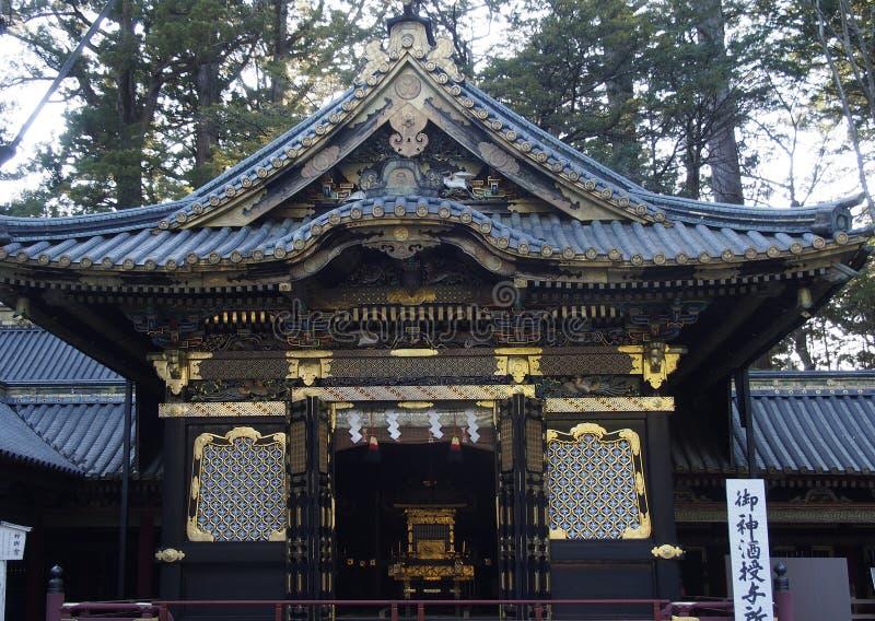 Budist Temple Detail Nikko Japan stock photography