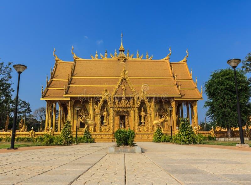 Budista de la señal de Wat Paknam Jolo fotos de archivo libres de regalías
