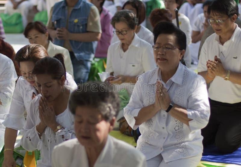 Budistas foto de stock royalty free