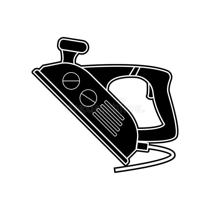 budować żelazną ikonę Element dom naprawy narzędzie dla mobilnego pojęcia i sieci apps ikony Glif, płaska ikona dla strona intern royalty ilustracja