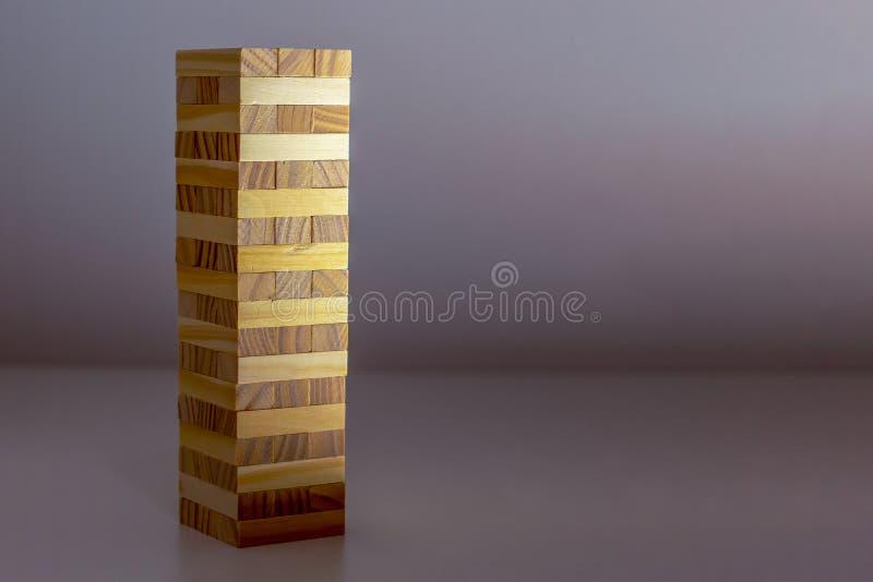 Budować od Drewnianych bloków fotografia royalty free