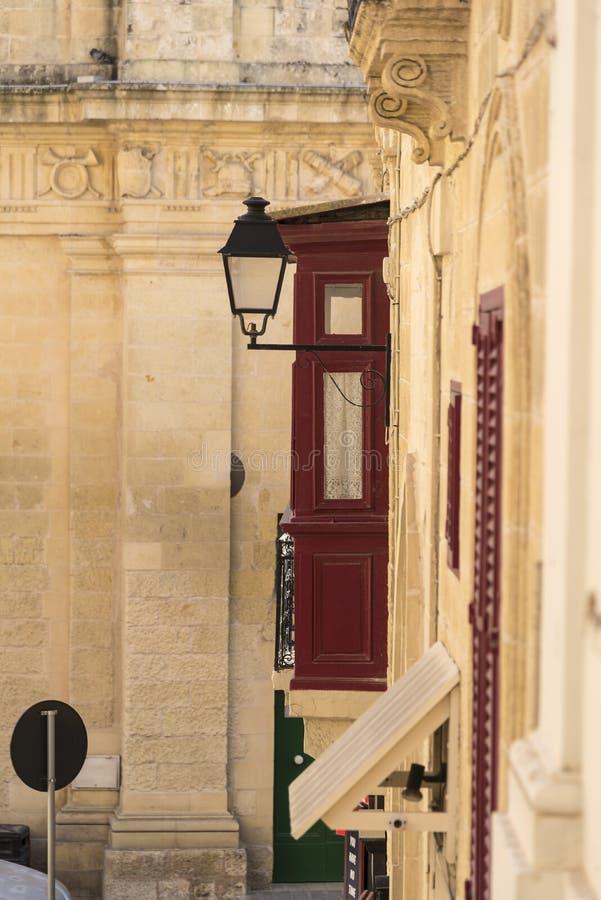 Budować szczegół Wiktoria Gozo obraz royalty free