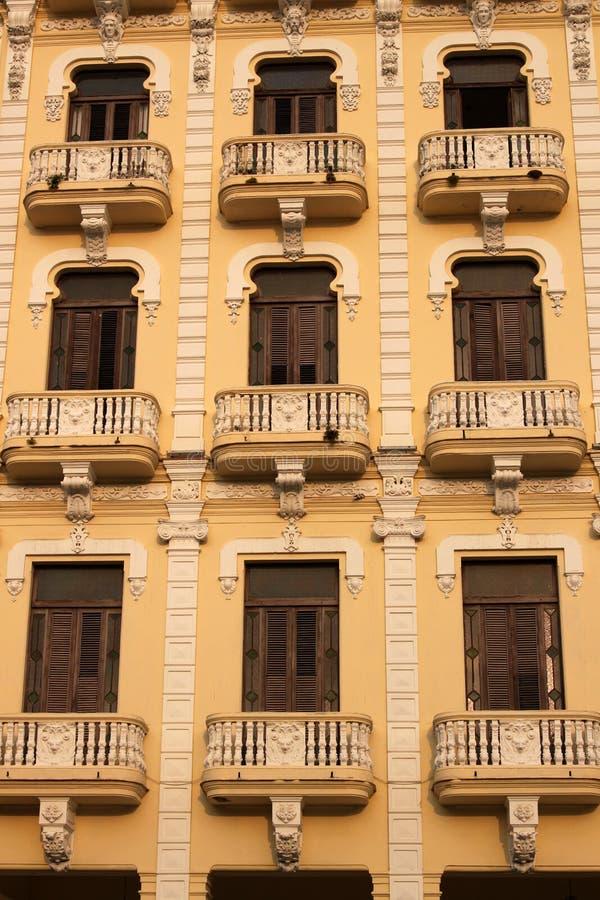 Budować w Hawańskim Kuba zdjęcie royalty free