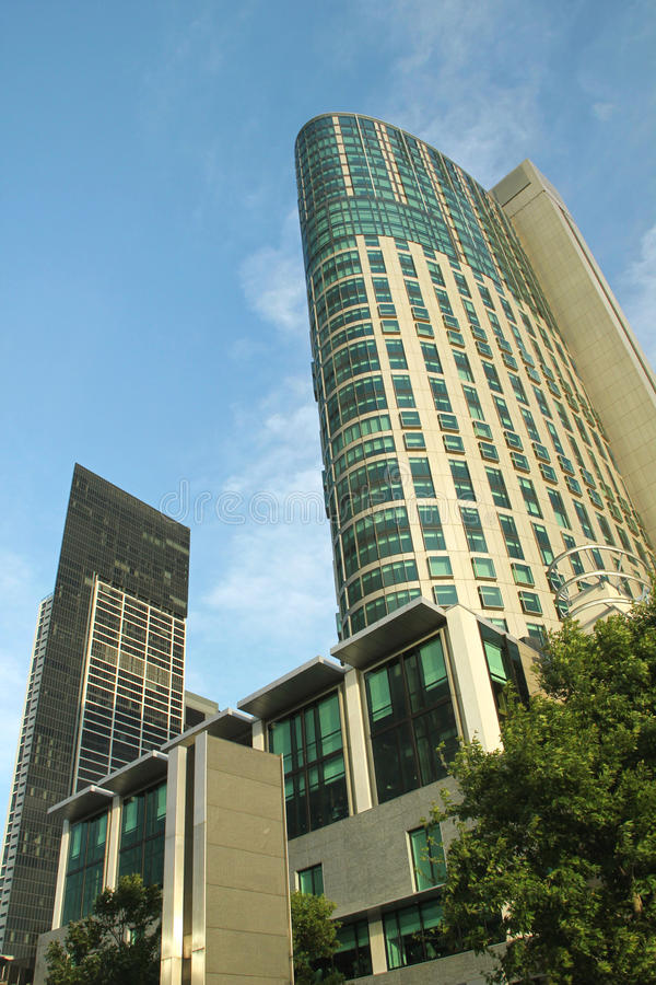 Budować w Melbourne zdjęcie stock