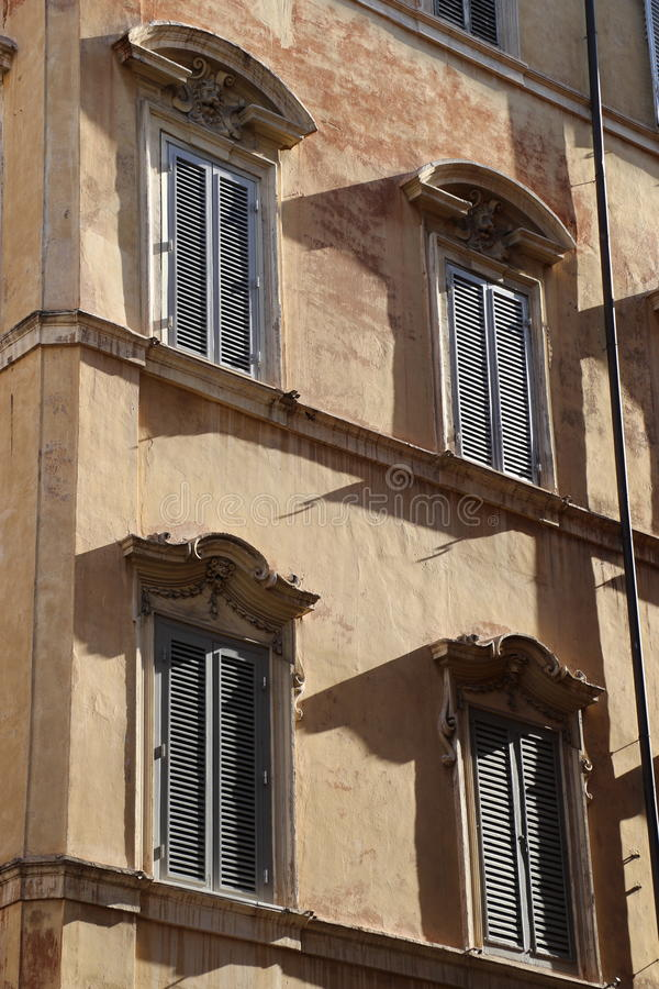Budować w Rome zdjęcie stock