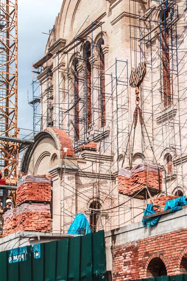 Budowa świątynia w Vladivostok obraz royalty free