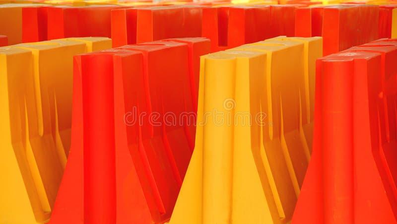 budowa bariery zdjęcia stock