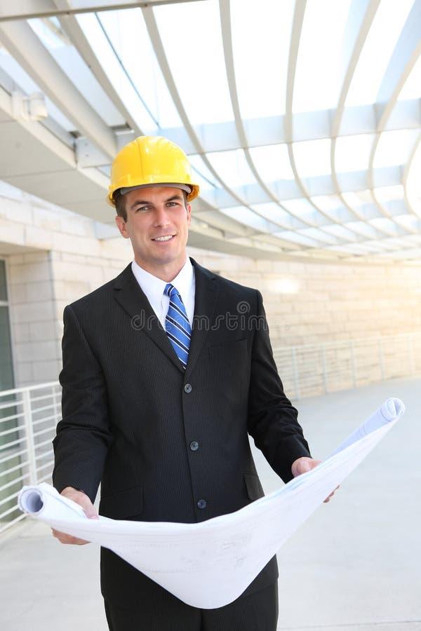 budowa biznesowy mężczyzna zdjęcia royalty free
