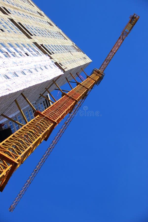 Budowa budynek mieszkalny zdjęcia stock