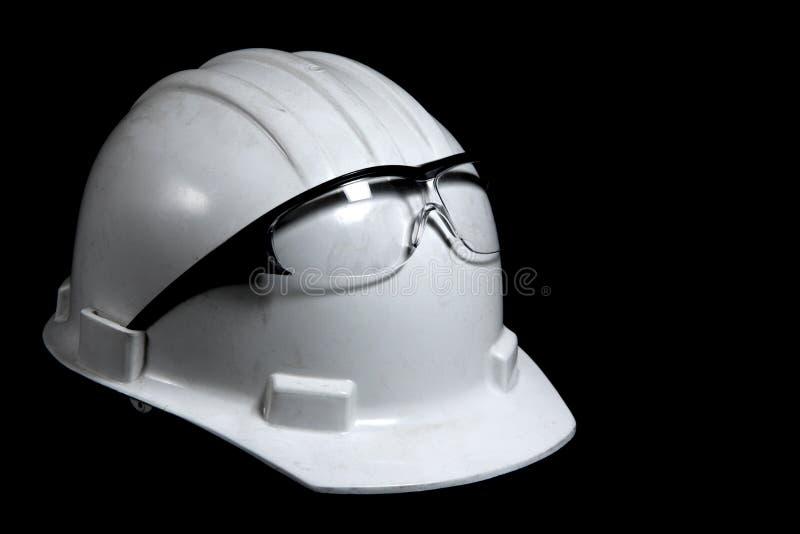 budowa ciężkie kapelusz zdjęcia royalty free
