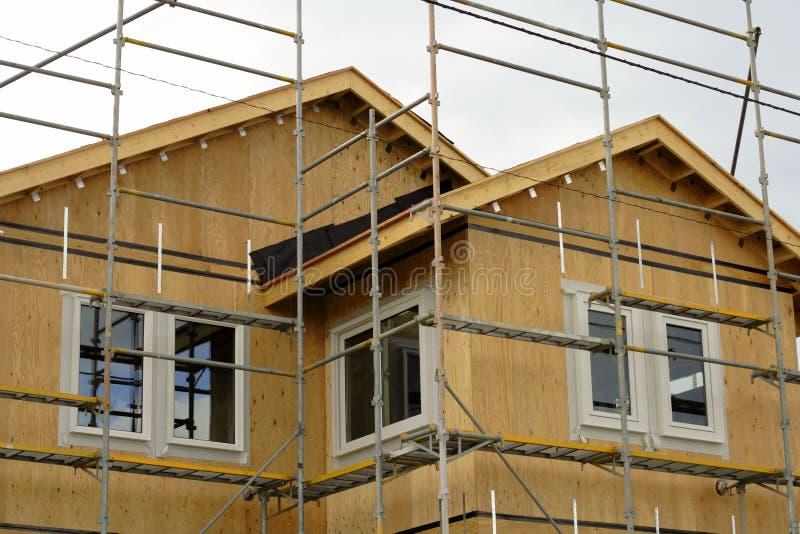 budowa domu obraz stock