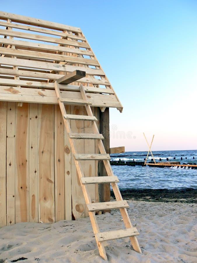 budowa drewniana zdjęcia royalty free