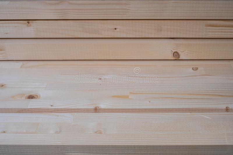 Budowa drewniany materiał - drewniane deski i panelu zbliżenie fotografia royalty free