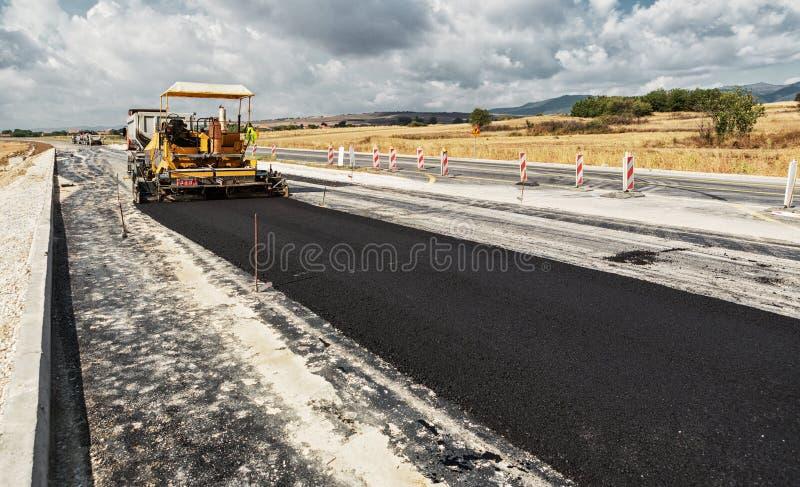 Budowa drogi zdjęcie royalty free