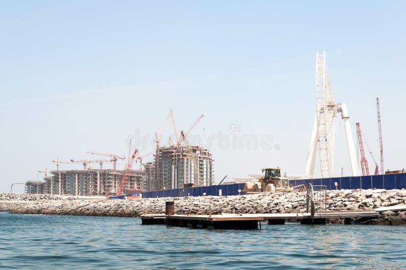 Budowa Dubaj oko światowy ` s wielki w Dubaj, UAE fotografia stock