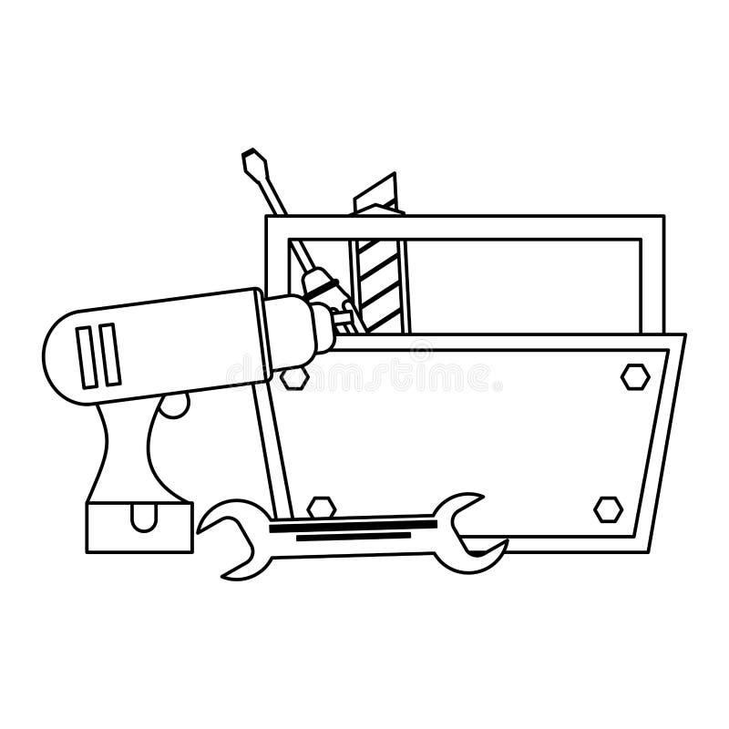 Budowa elementy i ilustracja wektor