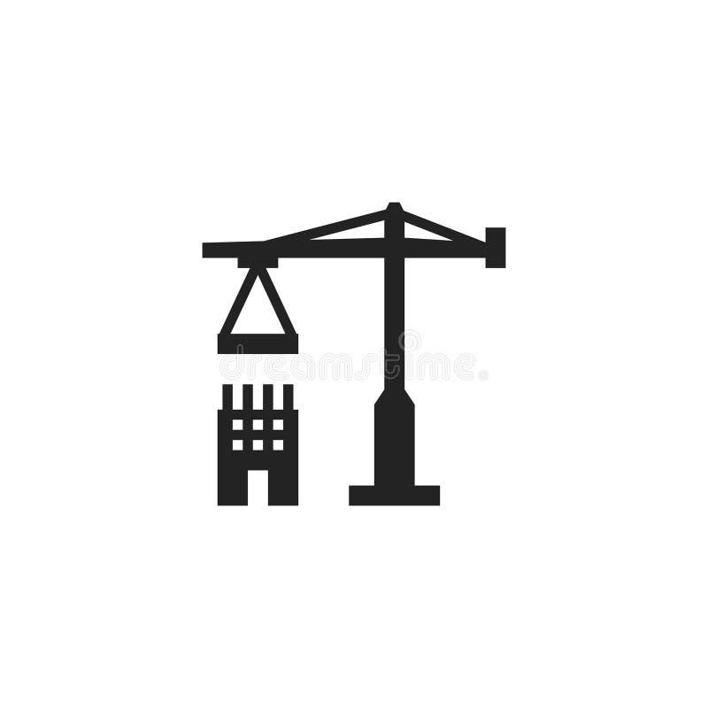 Budowa glifu Wektorowa ikona, symbol lub logo, royalty ilustracja