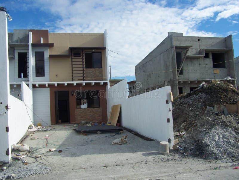 Budowa Grodzcy domy fotografia stock