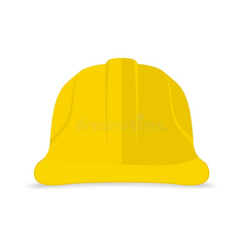 Budowa hełma ikona obrazy stock