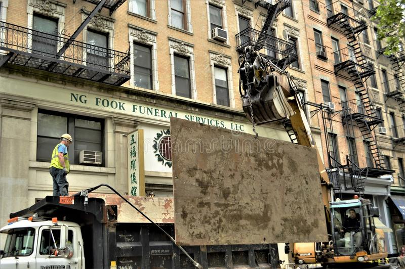 Budowa i maszyneria zdjęcie royalty free
