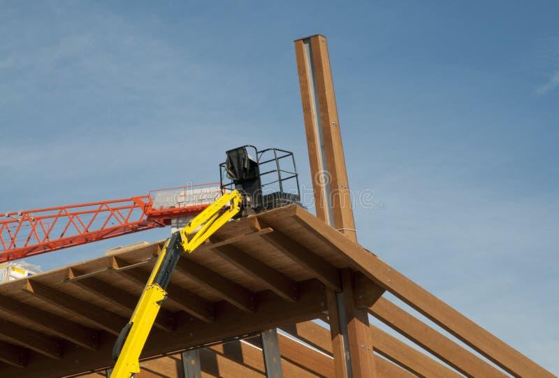 budowa kleiący uwarstwiający miejsca szalunek zdjęcie stock