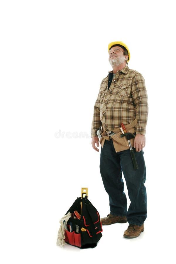 budowa mężczyzna zdjęcie royalty free