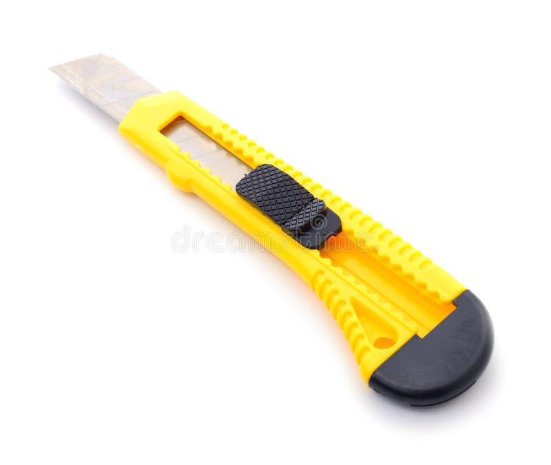 Budowa nóż zdjęcie stock