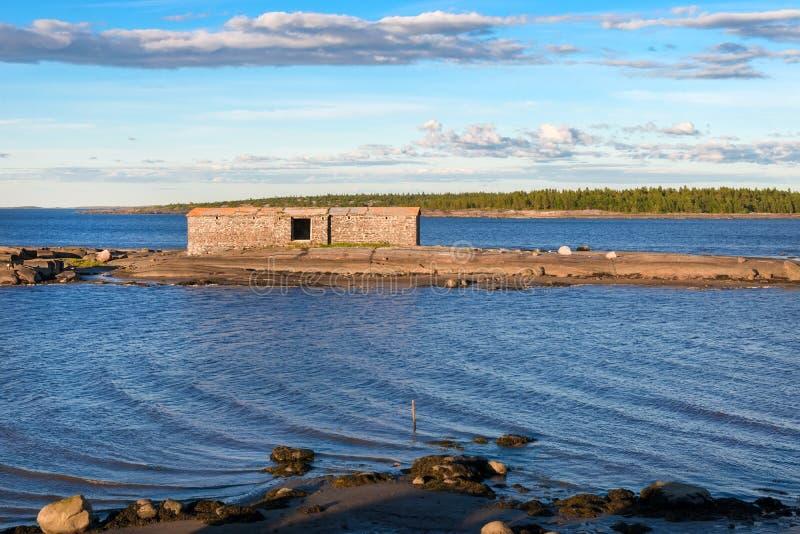 Budowa? na wyspie zdjęcia stock