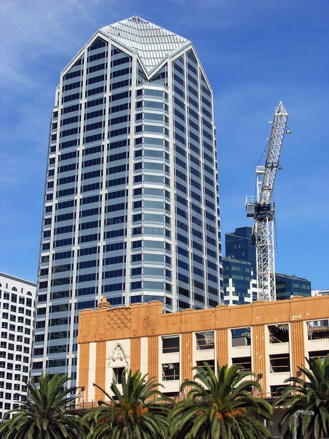 budowa San Diego. obraz royalty free