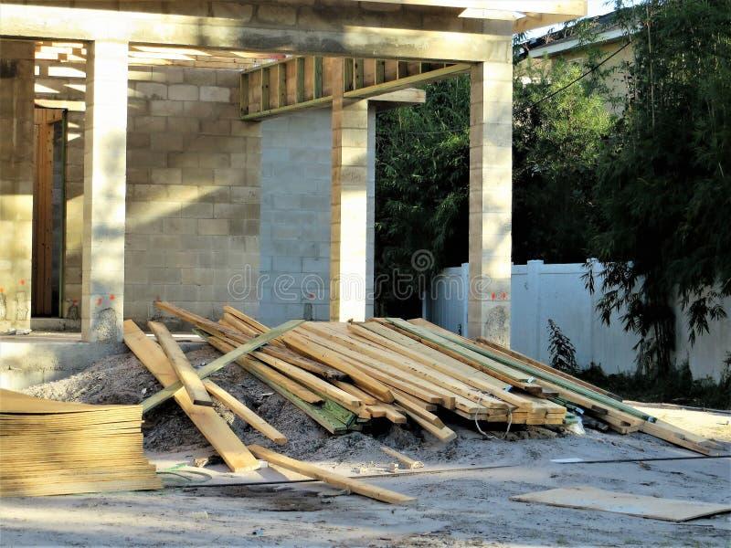 Budowa, Tampa obrazy royalty free