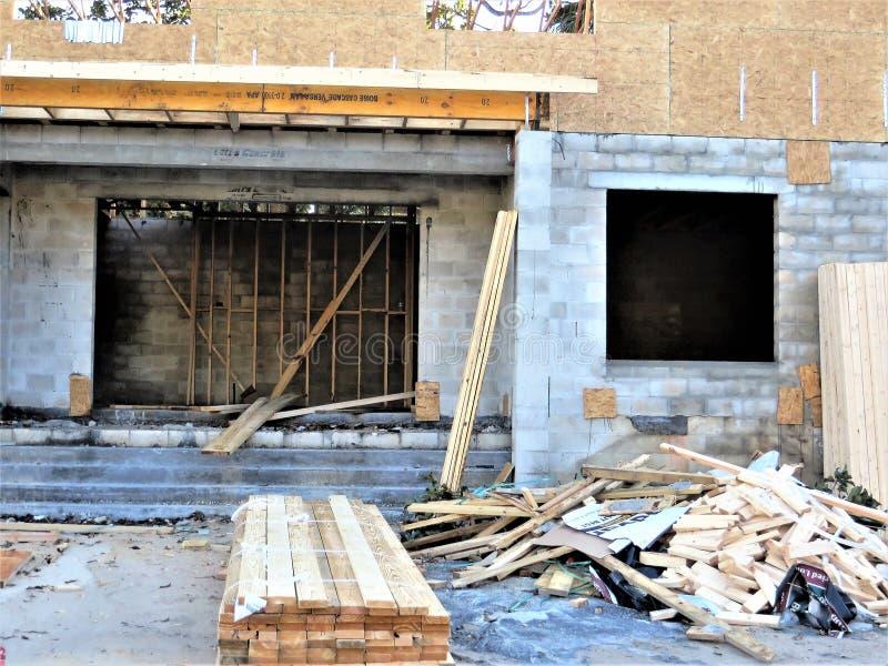 Budowa, Tampa zdjęcia stock