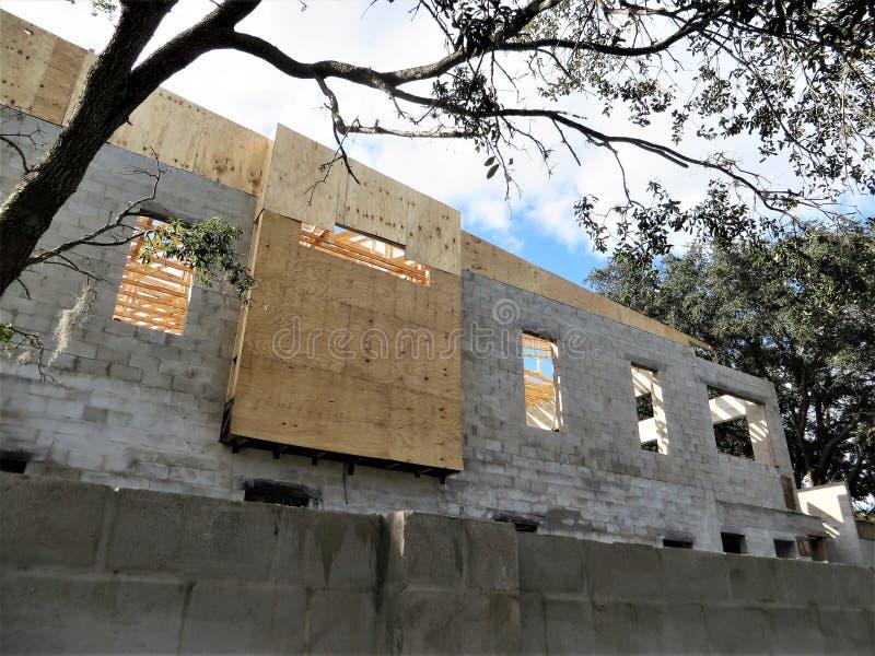 Budowa, Tampa obraz stock