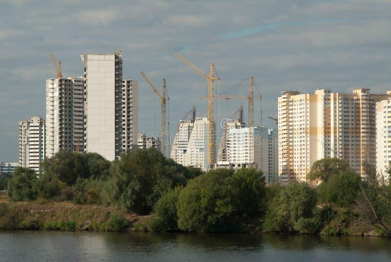 budowa target65_1_ Moscow region fotografia stock