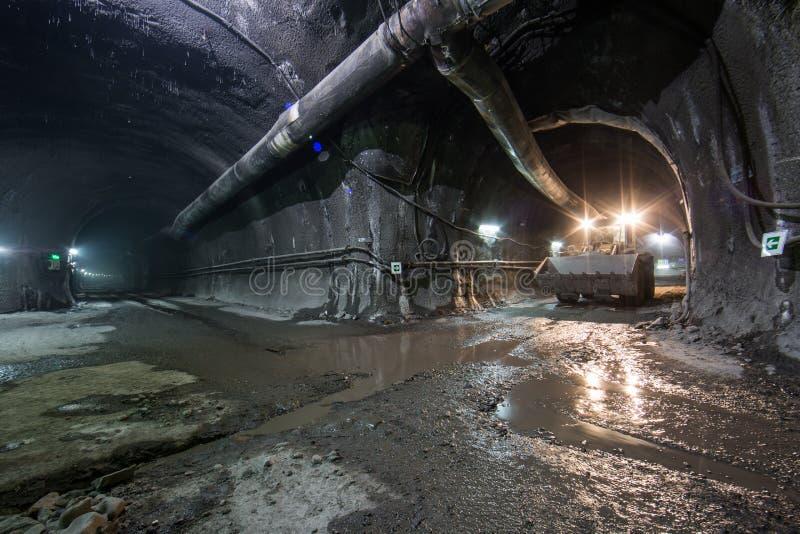 Budowa tunel obrazy stock