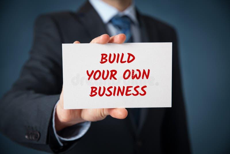 budowa twój biznes obrazy royalty free