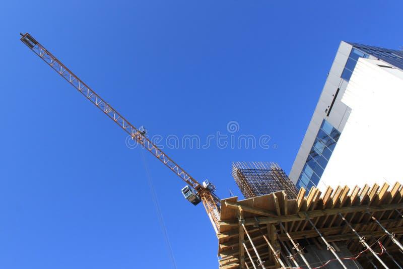 Download Budowa żuraw zdjęcie stock. Obraz złożonej z wyposażenie - 31082896