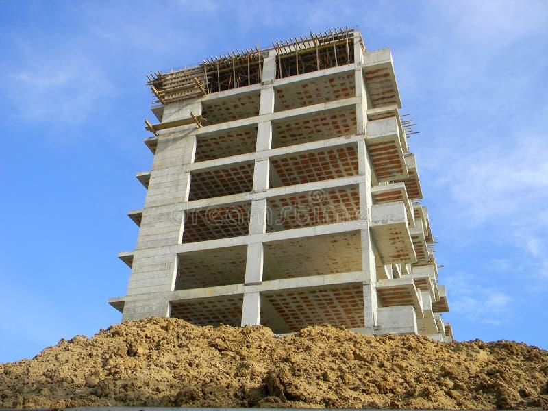 Budowa w Tirana, Albania obraz royalty free