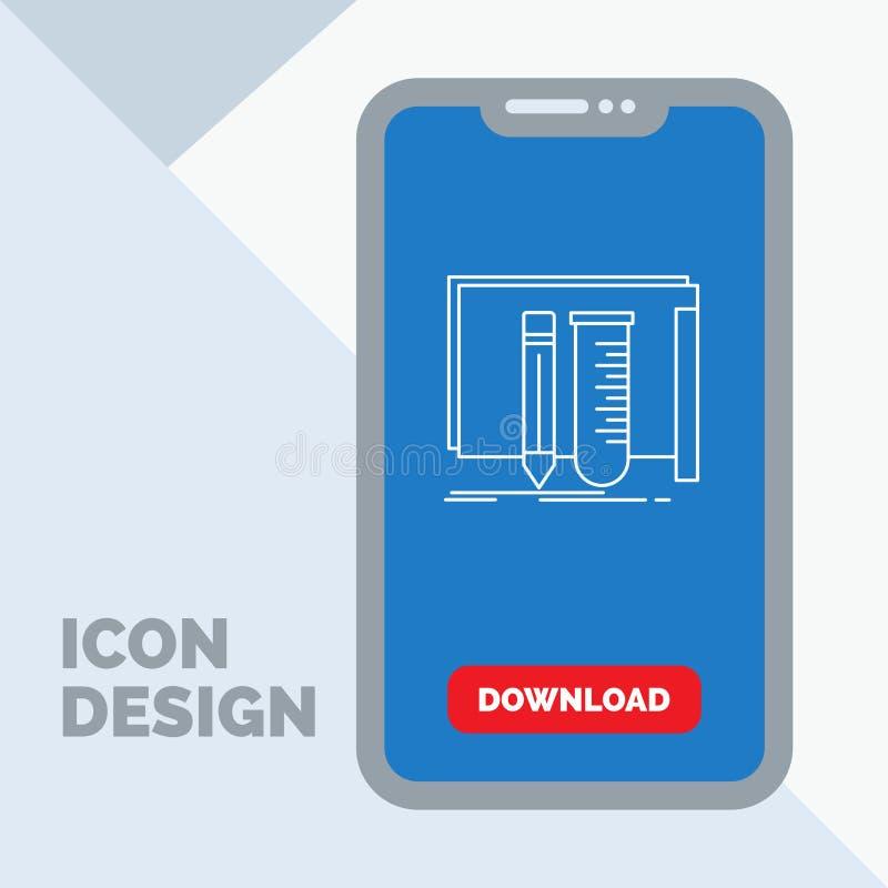 budowa, wyposażenie, bajeczny, lab, narzędzia Wykłada ikonę w wiszącej ozdobie dla ściąganie strony ilustracja wektor