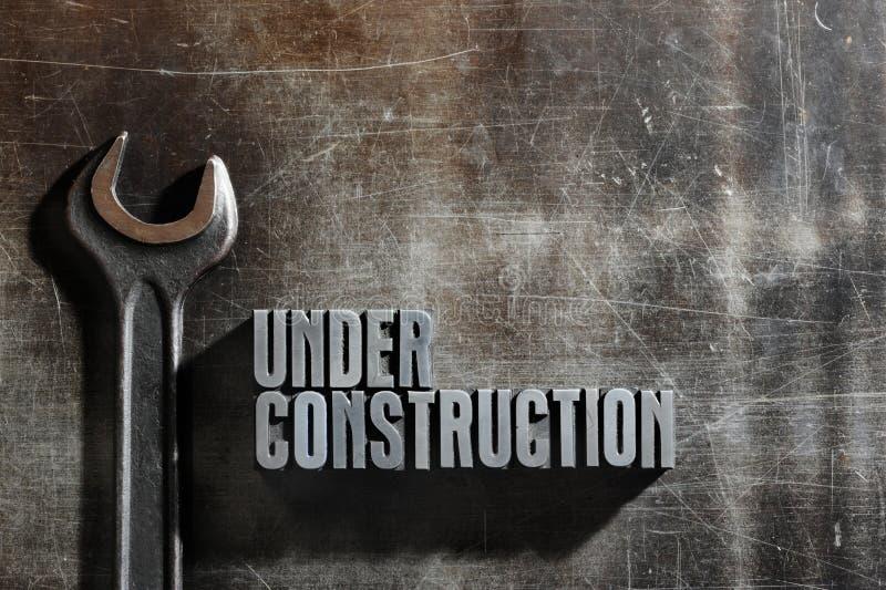 budowa znak zdjęcia stock