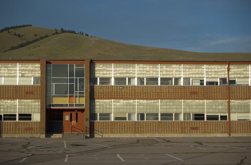 budowie szkoły zdjęcie stock