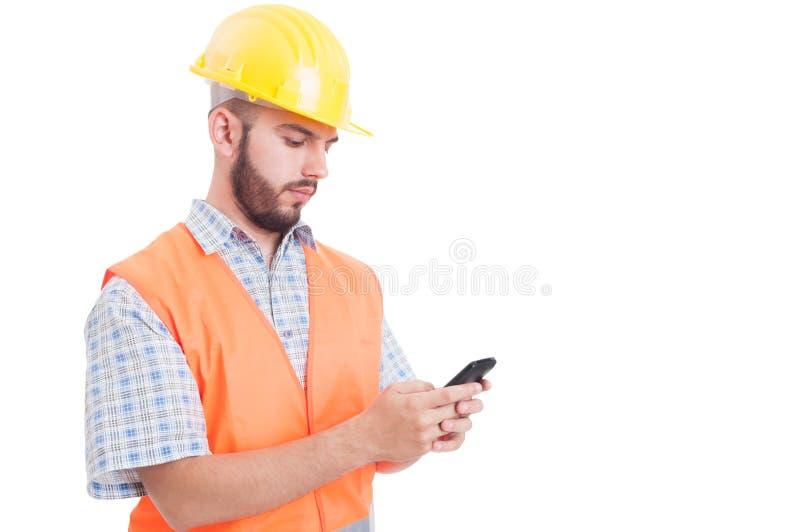 Budowniczy, inżynier lub zdjęcie royalty free