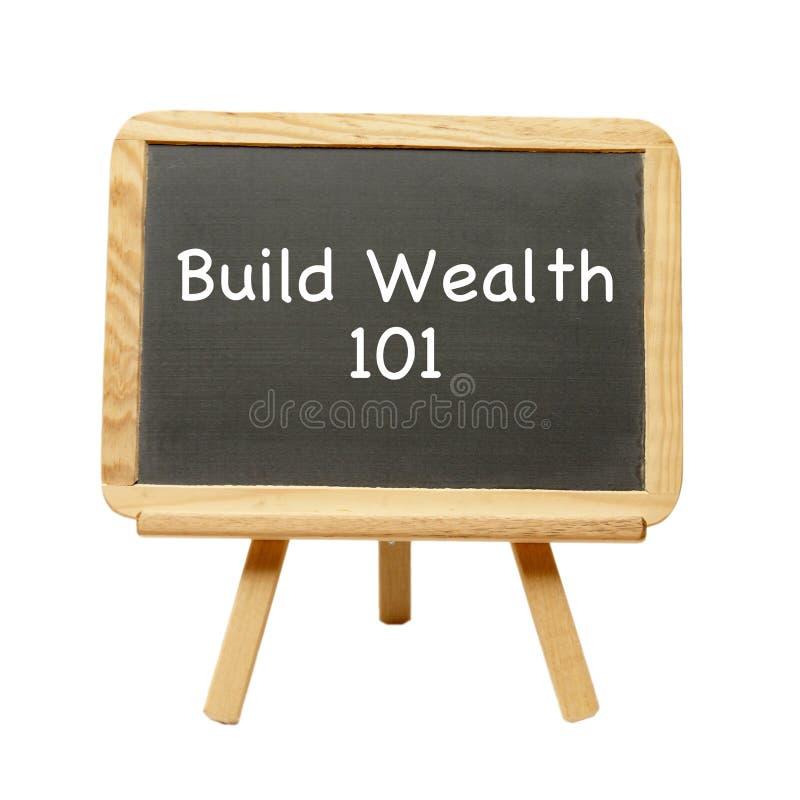 Budowy bogactwo 101 fotografia stock