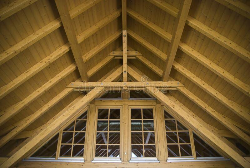 budowy dachu wierzchołek obraz royalty free
