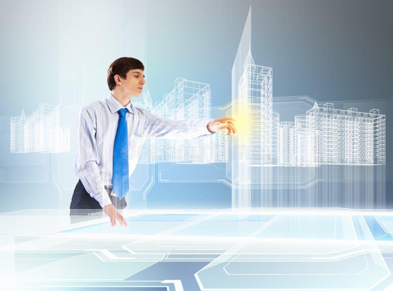Budowy i innowaci technologie zdjęcie royalty free
