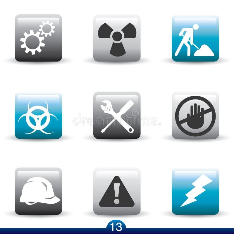 Download Budowy ikony serie ilustracja wektor. Ilustracja złożonej z narzędzia - 13330157