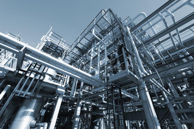 budowy inżynierii olej zdjęcie stock