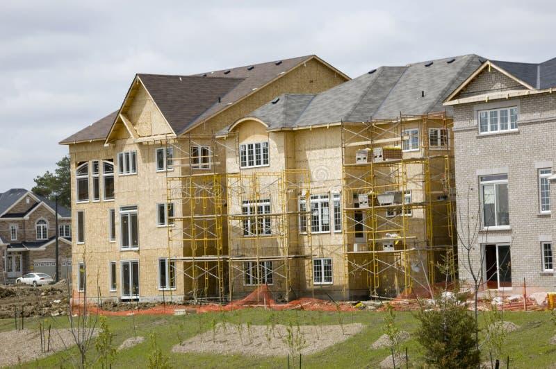budowy nowego domu fotografia stock